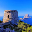 Famous tower of Savinar on Ibiza Island — Stock Photo