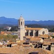 Cathedral in Girona - Stock Photo