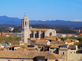 Cathedral in Girona — Stock Photo