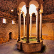 Arab Baths, Girona, Spain — Foto Stock