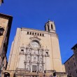 Foto Stock: Cathedral in Girona