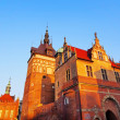 Torture House and Prison Tower in Gdansk, Poland — Stock Photo
