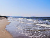 Beach in Gdansk — Stock Photo