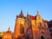 Maison de torture et la prison tour à gdansk, pologne — Photo