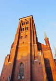 Mariacki Church in Gdansk, Poland — Stock Photo