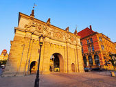 Uplands Gate, Gdansk, Poland — Stock Photo