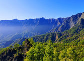 Caldera de Taburiente National Park on La Palma — Stock Photo