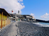 Lighthouse in Fuencaliente on La Palma — Stock Photo