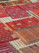 Tapetes marroquinos — Foto Stock