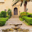 Andalusian Gardens in Rabat, Morocco — Stock Photo