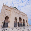 The Mausoleum of Mohammed V in Rabat — Stock Photo