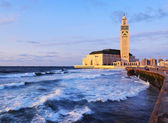 Hassan II Mosque in Casablanca — Stock Photo
