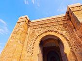 Gate in Rabat, Morocco, Africa — Stock Photo