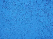 Blue Moroccan Wall Texture — Stock Photo