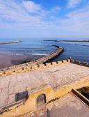 Plaża w rabacie, maroko — Zdjęcie stockowe