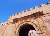 Brána v essaouira, Maroko — Stock fotografie