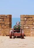 エッサウィラ、モロッコの古い大砲 — ストック写真