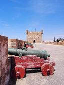 Skala du port w essaouira, maroko — Zdjęcie stockowe