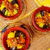 Moroccan Couscous — Stock Photo