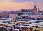 Jamaa el Fna, Marrakech — Stock Photo