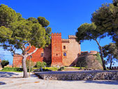 Castle in Castelldefels — Stock Photo