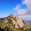 Montserrat Mountain, Spain — Stock Photo