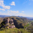 View from Montserrat Mountain, Spain — Stock Photo #32681819