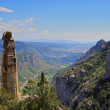 View from Montserrat Mountain, Spain — Stock Photo