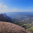 View from Montserrat Mountain, Spain — Stock Photo #32681891