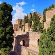Alcazaba in Malaga, Spain — Stock Photo