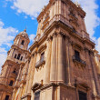 Stock Photo: Cathedral in Malaga, Spain