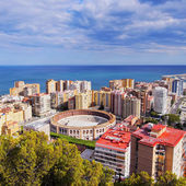 Malaga Cityscape, Spain — Stock Photo