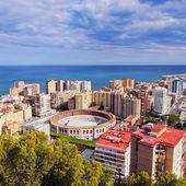 Malaga Cityscape, Spain — Stock Photo