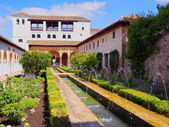 Generalife in Granada, Spain — Stock Photo