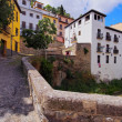 Albayzin in Granada, Spain — Stock Photo