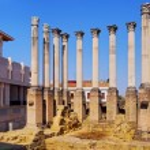 Roman Temple in Cordoba, Spain — Stock Photo #34501121