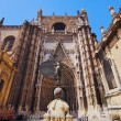 Cathedral in Seville, Spain — ストック写真