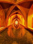 Baths of Lady Maria de Padilla in Alcazar of Seville, Spain — Stock Photo