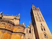 Catedral de sevilla, españa — Foto de Stock