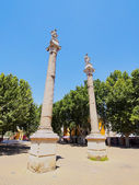 Roman Columns in Seville, Spain — Stock Photo
