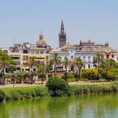 Guadalquivir River in Seville — Stock Photo