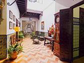 Santa Cruz District in Seville — 图库照片