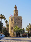 Torre del Oro in Seville, Spain — Stock Photo
