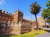 Walls of Macarana in Seville, Spain — 图库照片