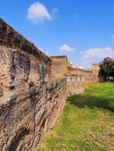 Walls of Macarana in Seville, Spain — Stock Photo
