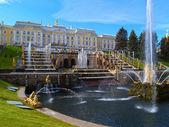 Peterhof in Russia — Stock Photo