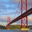 图库照片: Bridge in Lisbon