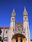 Jeronimos Monastery in Lisbon — Стоковое фото