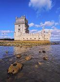 башня белем в лиссабоне — Стоковое фото
