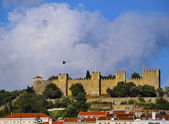 Sao Jorge Castle in Lisbon — Stock Photo